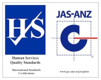 JAS-ANZ Human Services Quality Standards logo